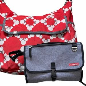 Disney Baby Minnie Mouse Carryall Diaper Bag